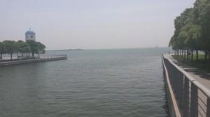 Une vue du lac