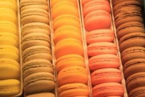 les macarons que je n'ai pas voulu tester après les succulents de Thierry :-)