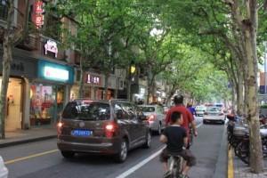 Une des rue principale du quartier