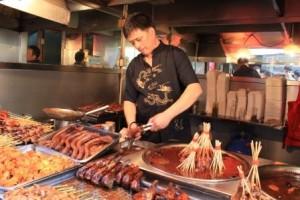 La viande rôtie...