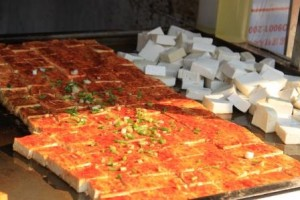 Pizzas  de tofu ..très bon
